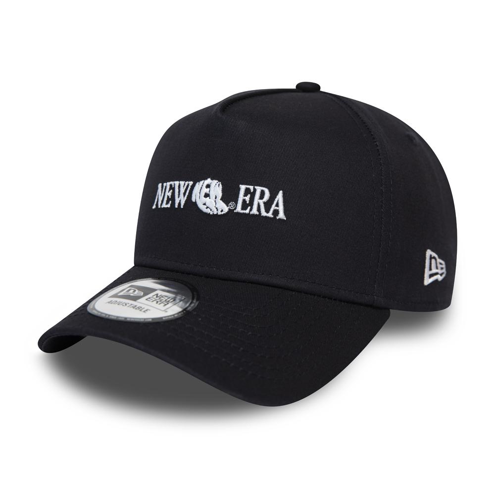 New Era – 9FORTY Snapback – Logo – Marineblau
