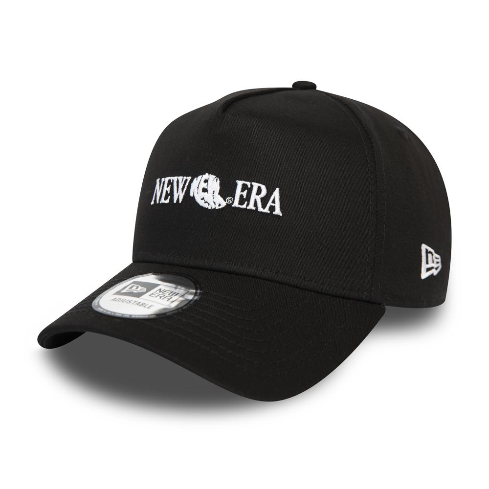 New Era – 9FORTY Snapback – Logo – Schwarz