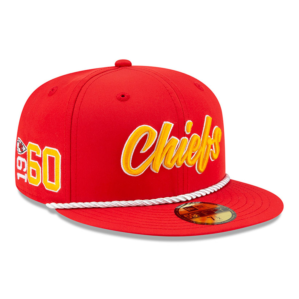Kansas City Chiefs Sideline 59FIFTY domicile