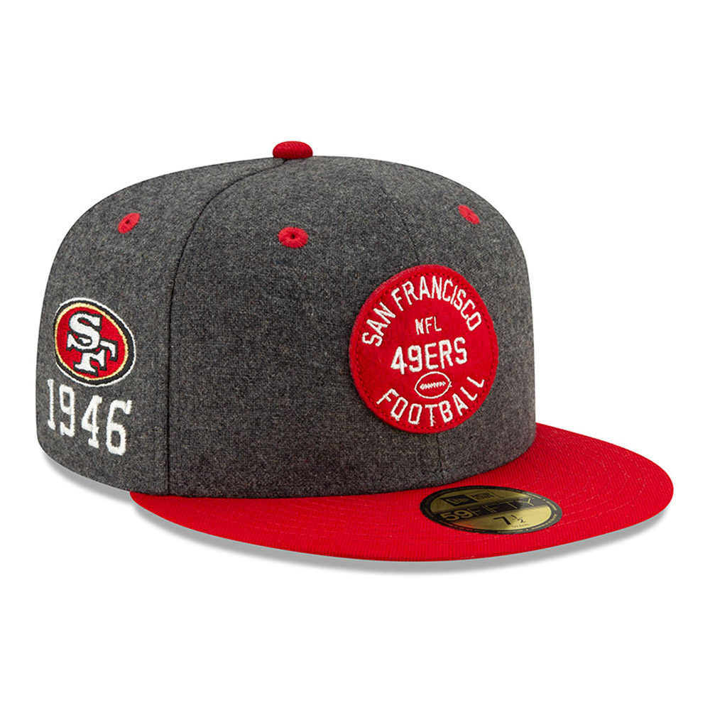 San Francisco 49ERS Sideline 59FIFTY domicile