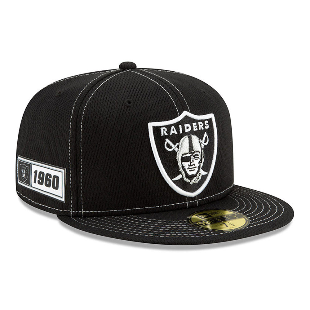 Oakland Raiders Sideline 59FIFTY déplacement