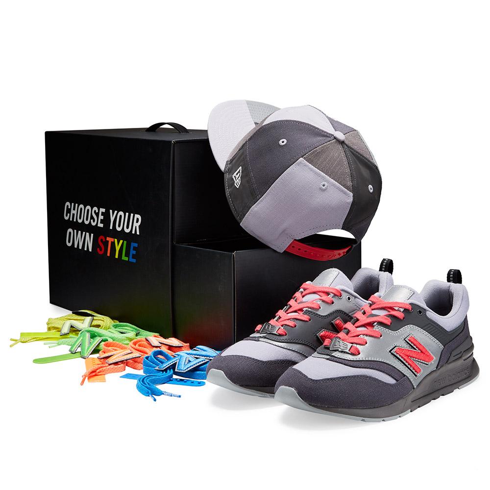 Set New Era X New Balance Retro Crown 9FIFTY e scarpe da ginnastica 997H