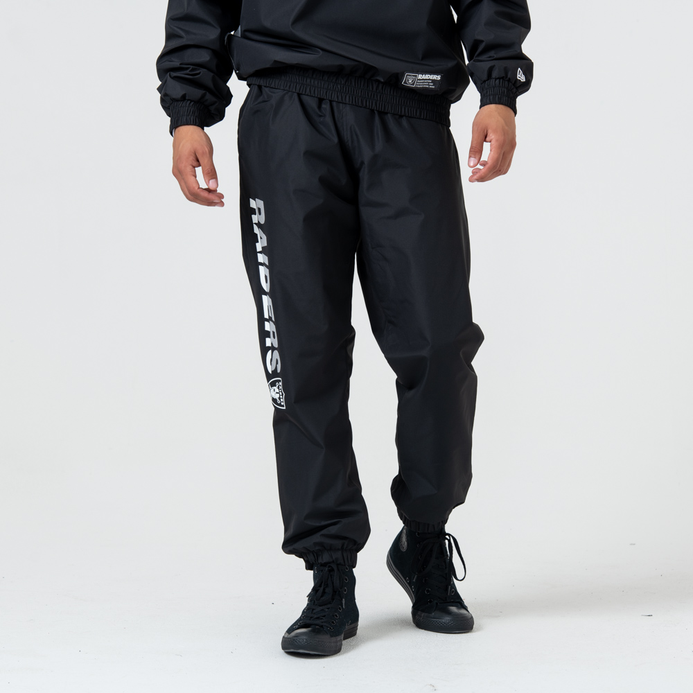 Pantalon de jogging Oakland Raiders Wordmark noir