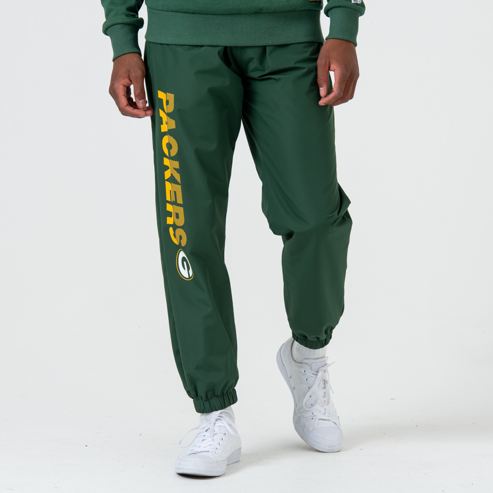 Pantalones de chándal Green Bay Packers Wordmark, verde