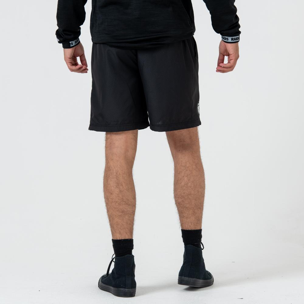 Pantaloncini Oakland Raiders Logo Black
