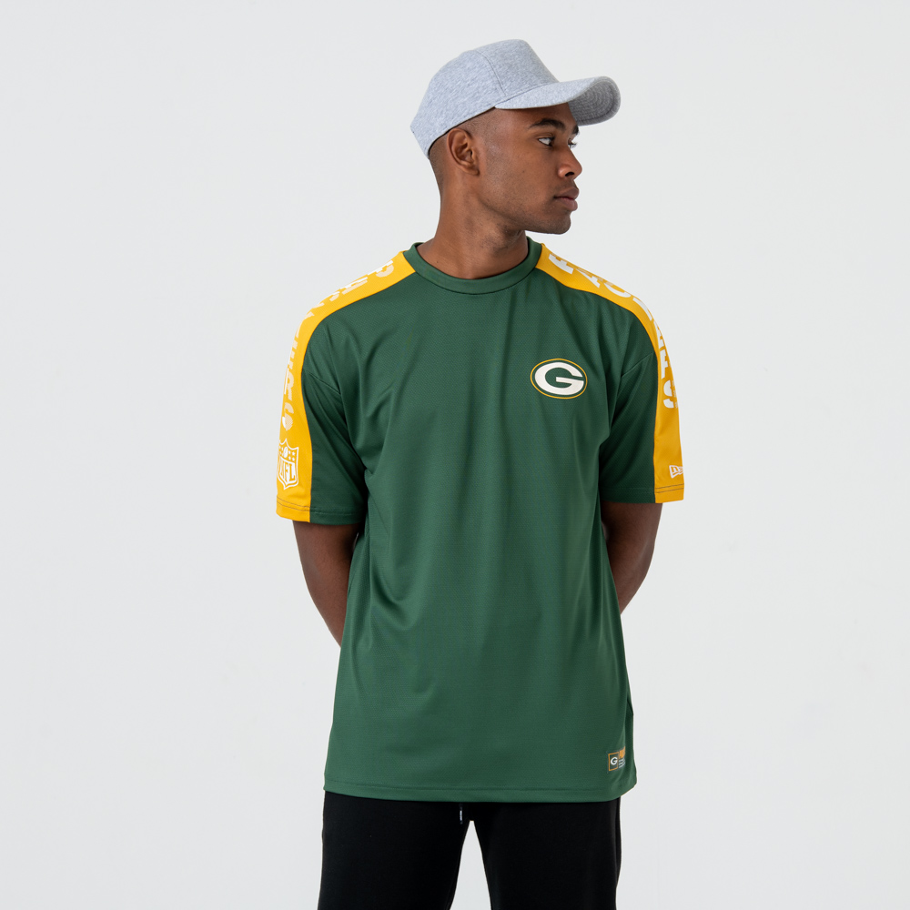 T-shirt Green Bay Packers Oversized Shoulder Print