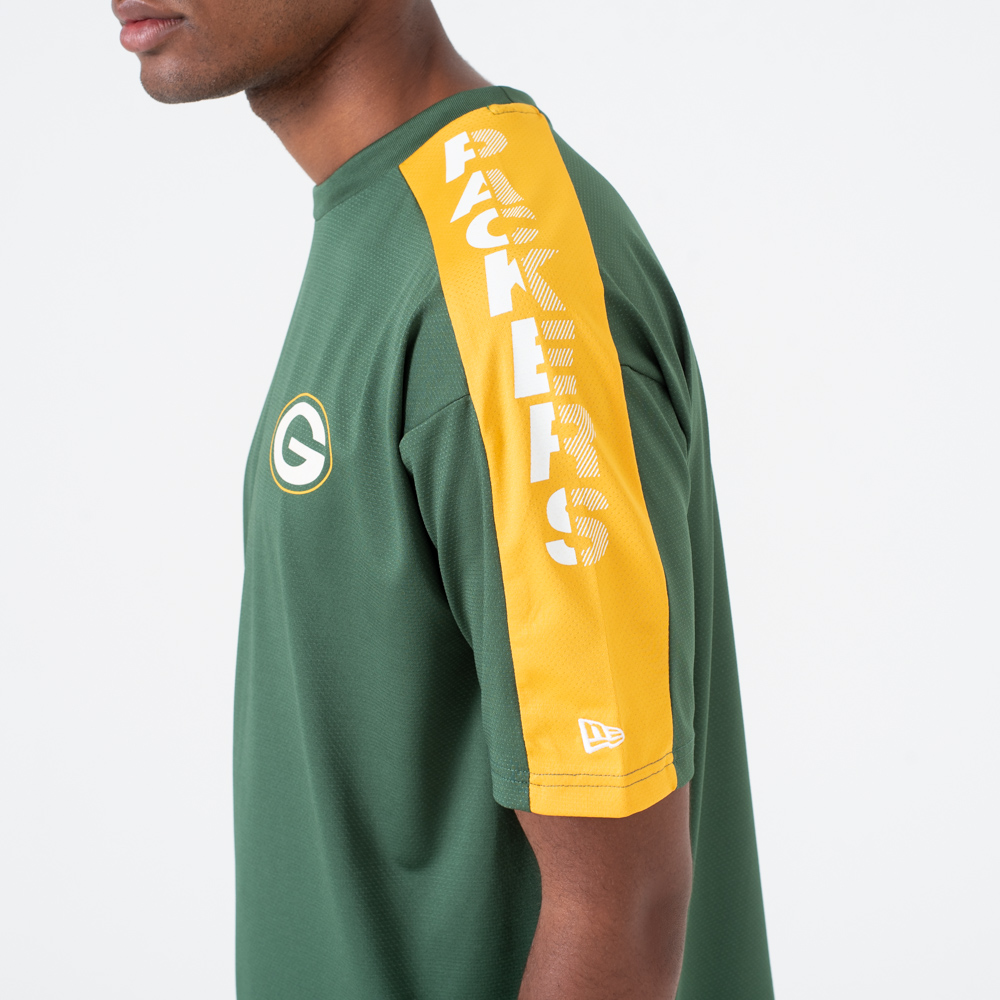 T-shirt Green Bay Packers Oversized Shoulder Print