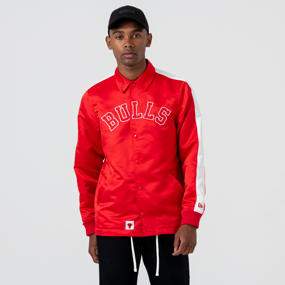 Giacca Coach Chicago Bulls Wordmark Red