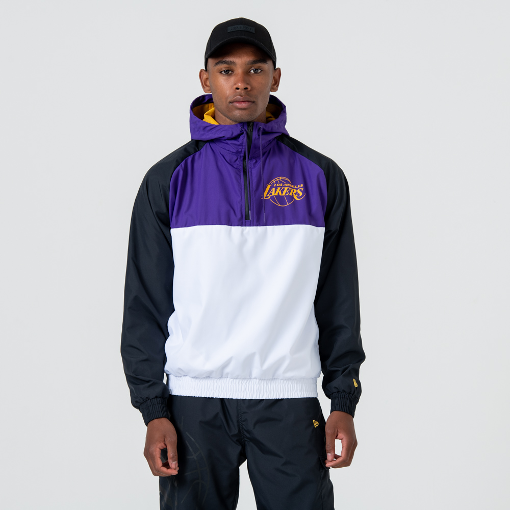 Los Angeles Lakers – Windjacke – Schwarz