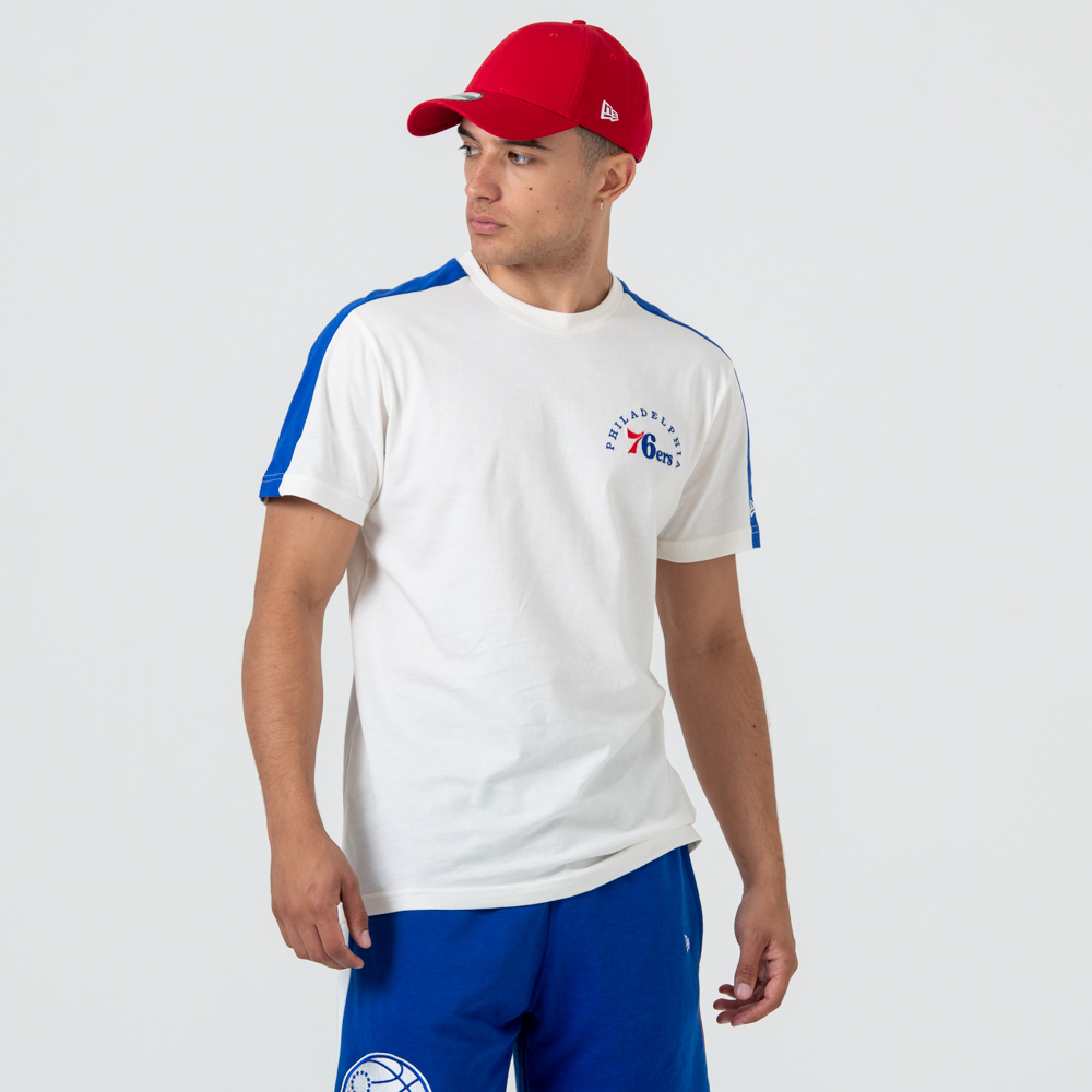 T-shirt Philadelphia 76ERS Wordmark White