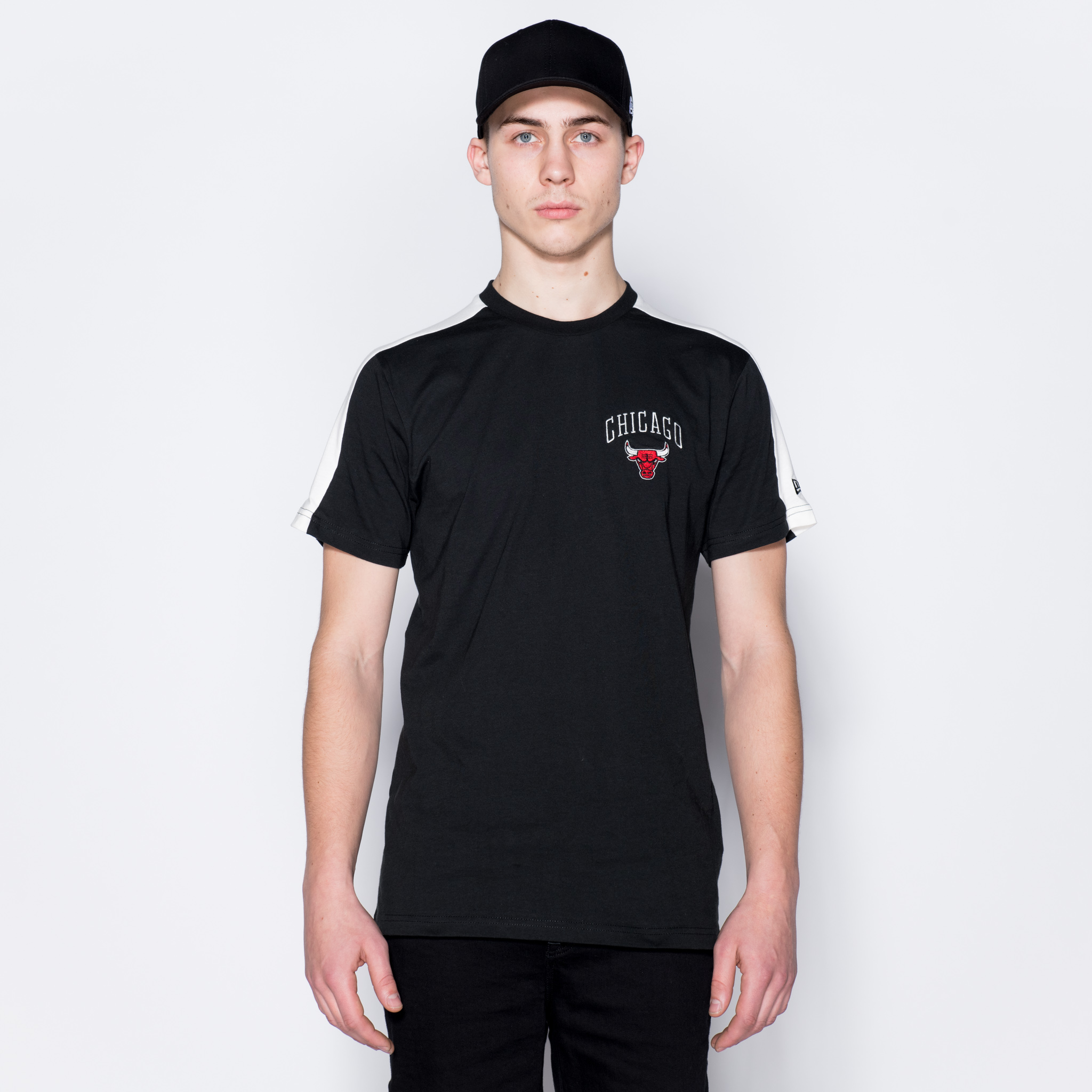 T-shirt Chicago Bulls Wordmark noir