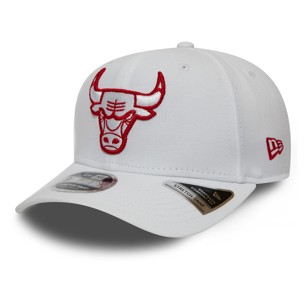 Chicago Bulls Stretch Snap 9FIFTY blanc