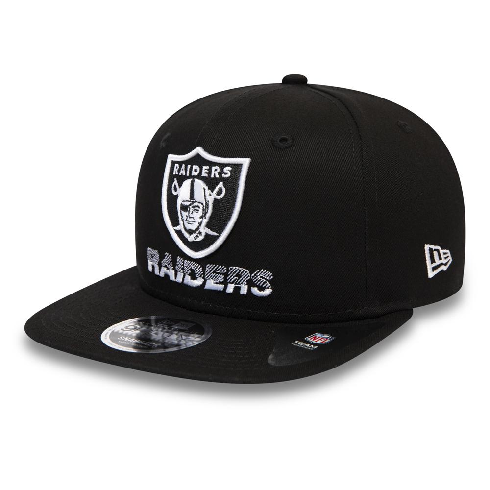 9FIFTY – Oakland Raiders – Schwarz