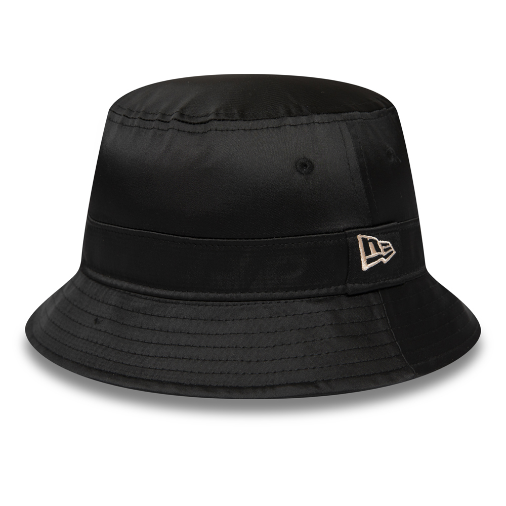 New Era Female Satin Black Bucket