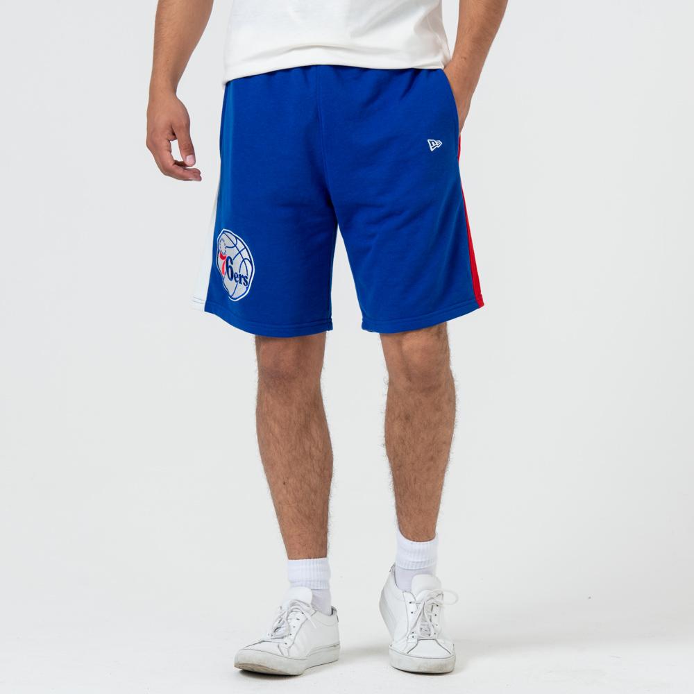 Philadelphia – 76ERS – Shorts mit Streifen – Blau