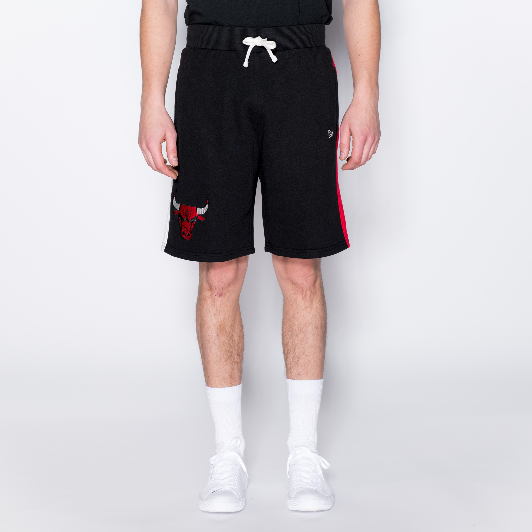 Short rayé Chicago Bulls noir