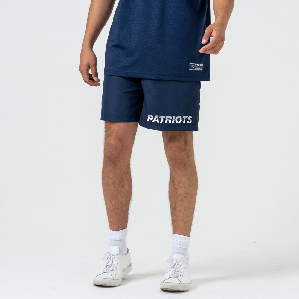 Short New England Patriots Logo bleu