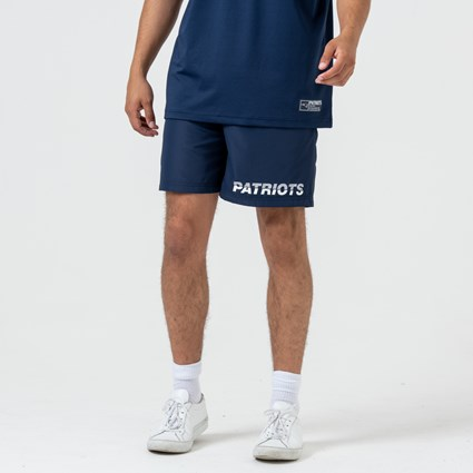 New England Patriots Logo Blue Shorts