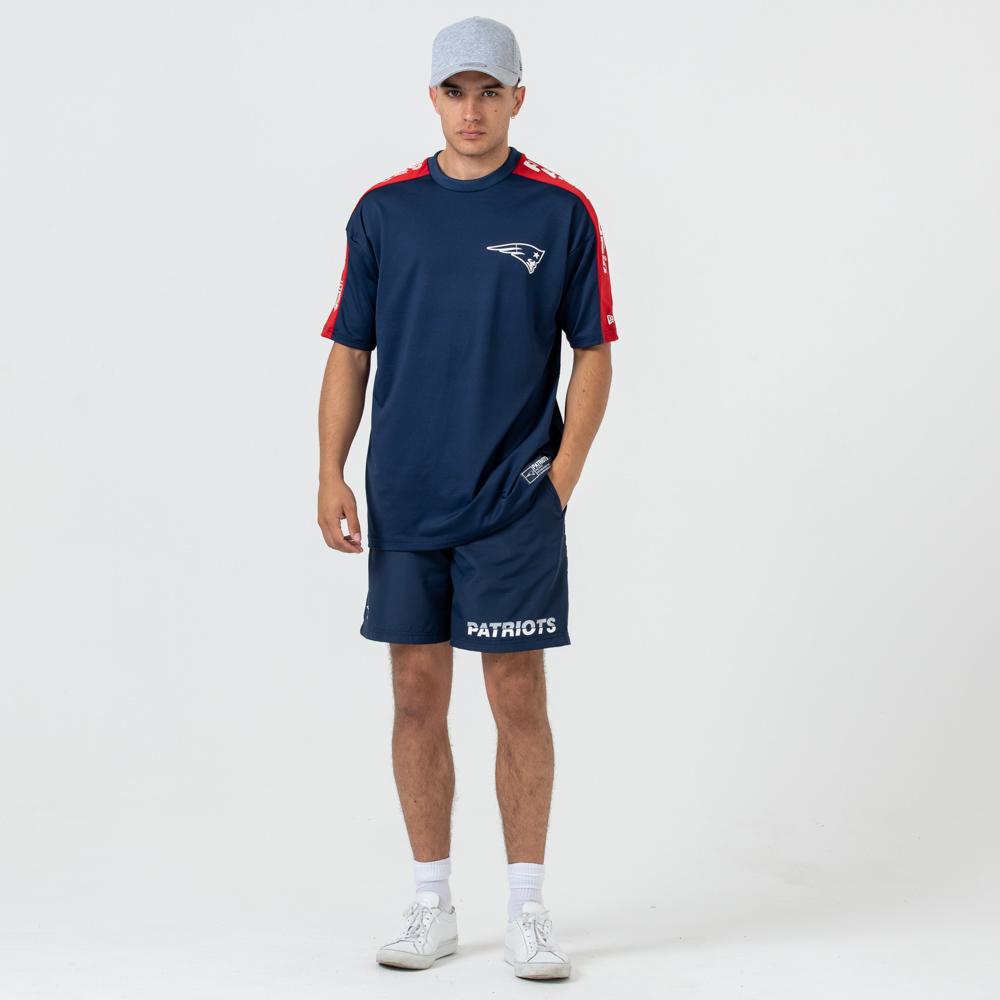 T-shirt imprimé aux épaules New England Patriots Oversized