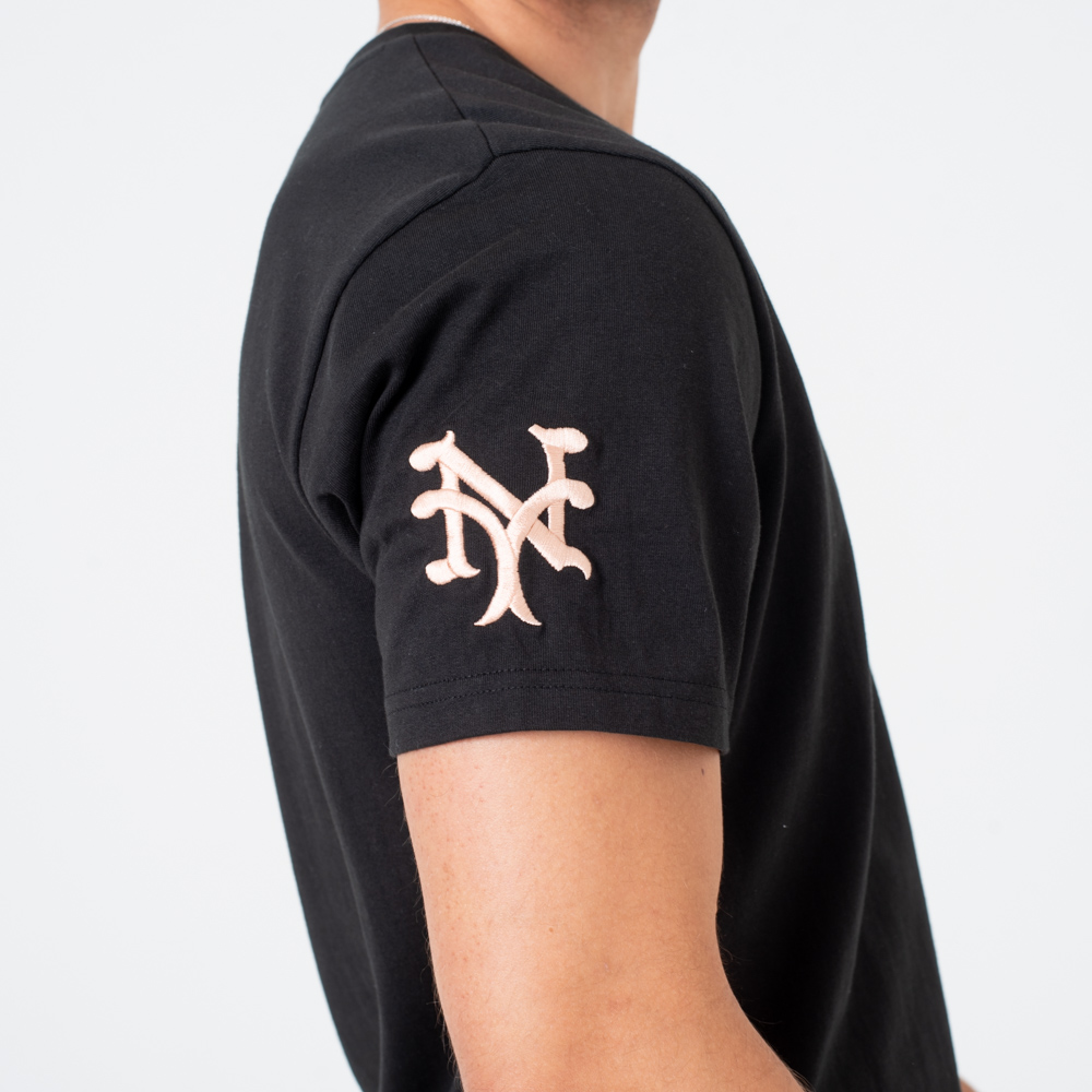 T-shirt New York Giants Vintage Pocket Logo Black