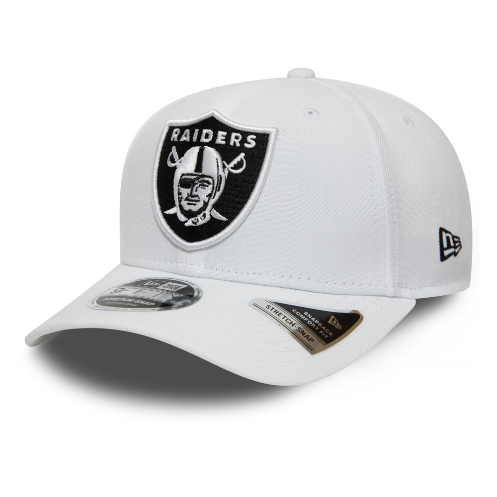 Oakland Raiders Stretch Snap 9FIFTY blanc