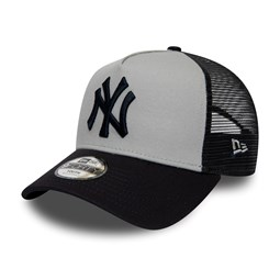 New York Yankees A-Frame Trucker enfant grise