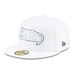 Seattle Seahawks On Field Platinum 59FIFTY