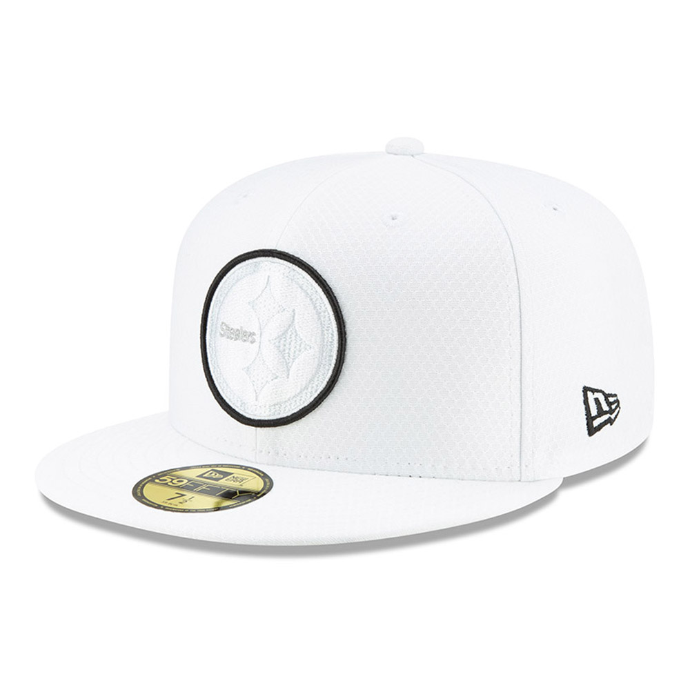 59FIFTY – Pittsburgh Steelers – On Field Platinum