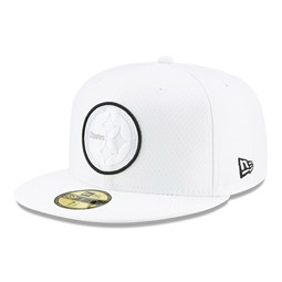 Pittsburgh Steelers On Field Platinum 59FIFTY