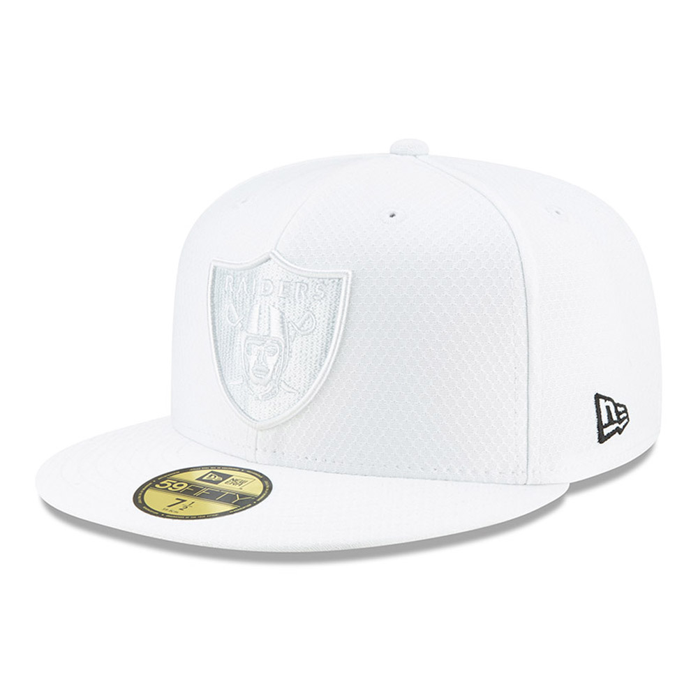 Oakland Raiders On Field Platinum 59FIFTY