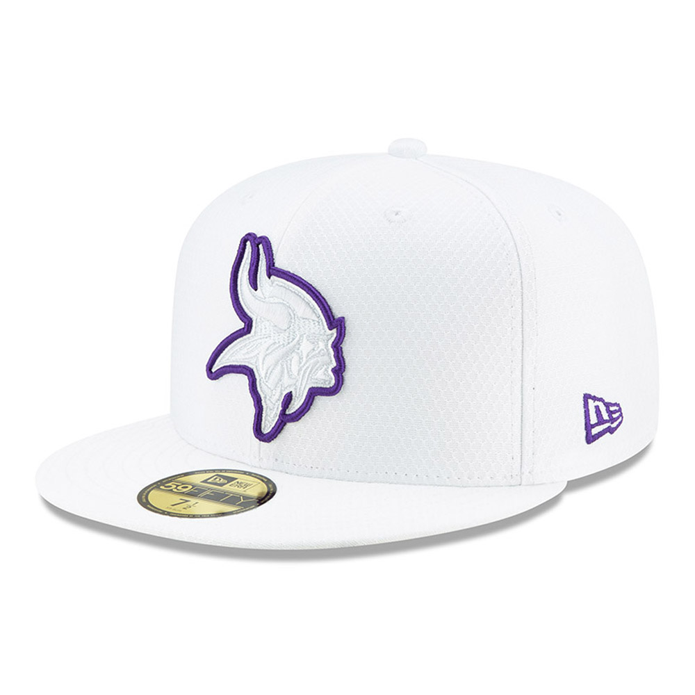 Minnesota Vikings On Field Platinum 59FIFTY