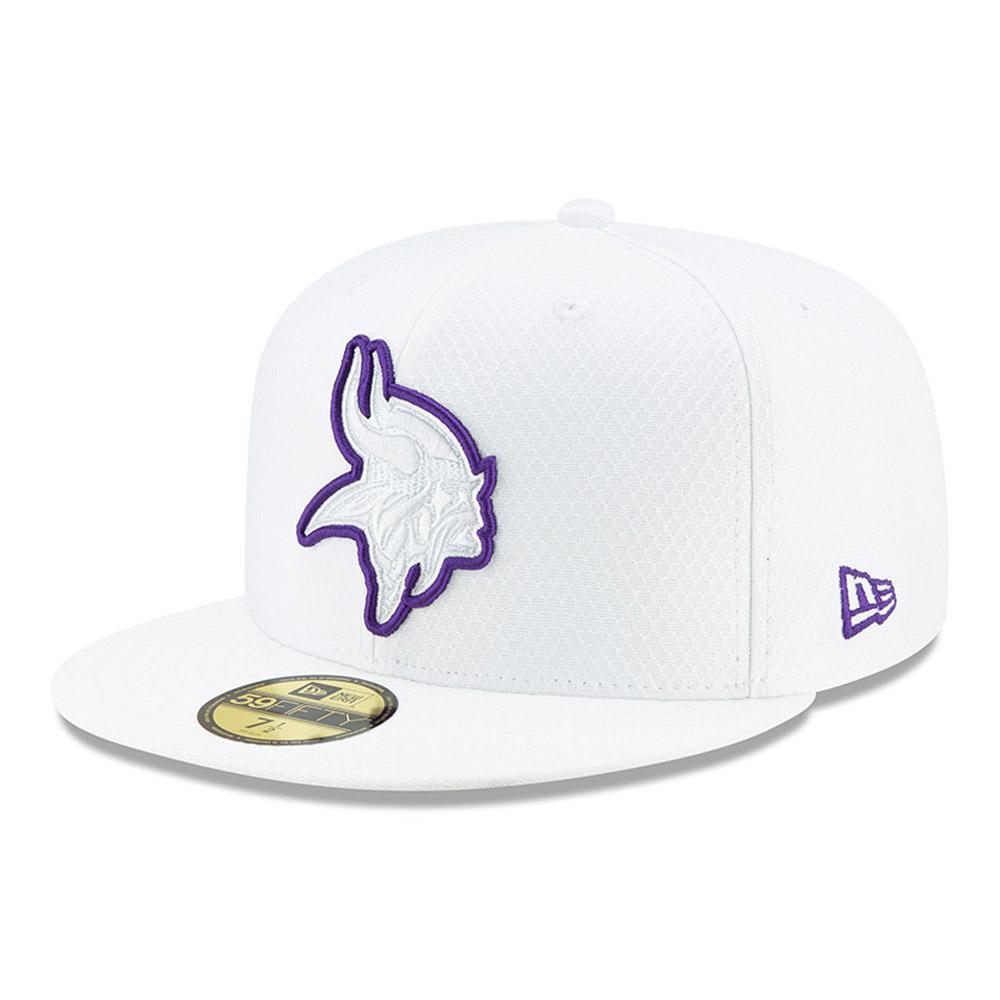 Minnesota Vikings On Field Platinum 59FIFTY