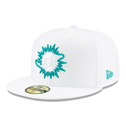 Miami Dolphins On Field Platinum 59FIFTY