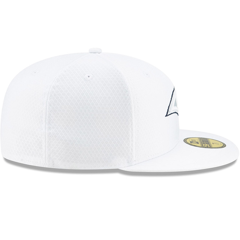 Los Angeles Rams On Field Platinum 59FIFTY