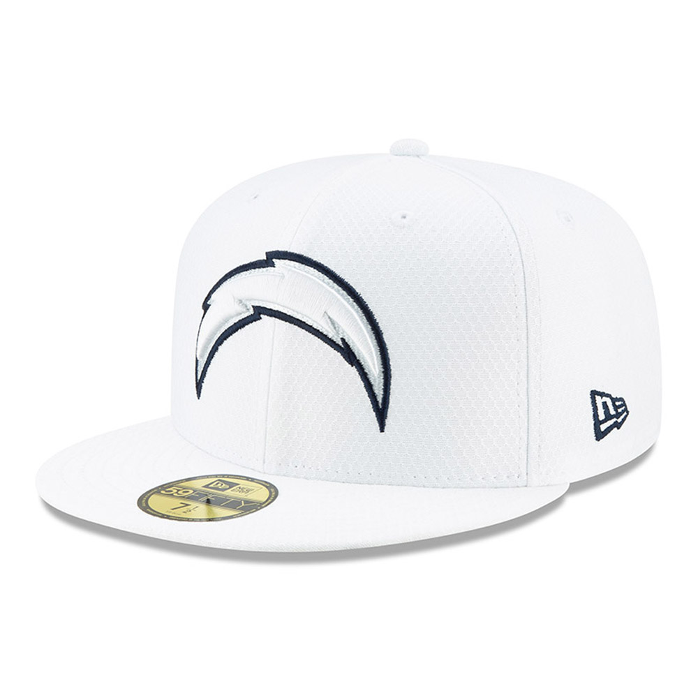 Los Angeles Chargers On Field Platinum 59FIFTY