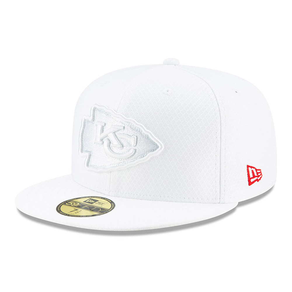 Kansas City Chiefs On Field Platinum 59FIFTY