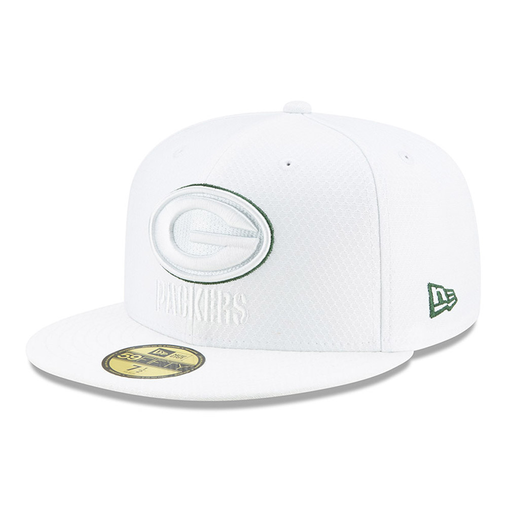 Green Bay Packers On Field Platinum 59FIFTY