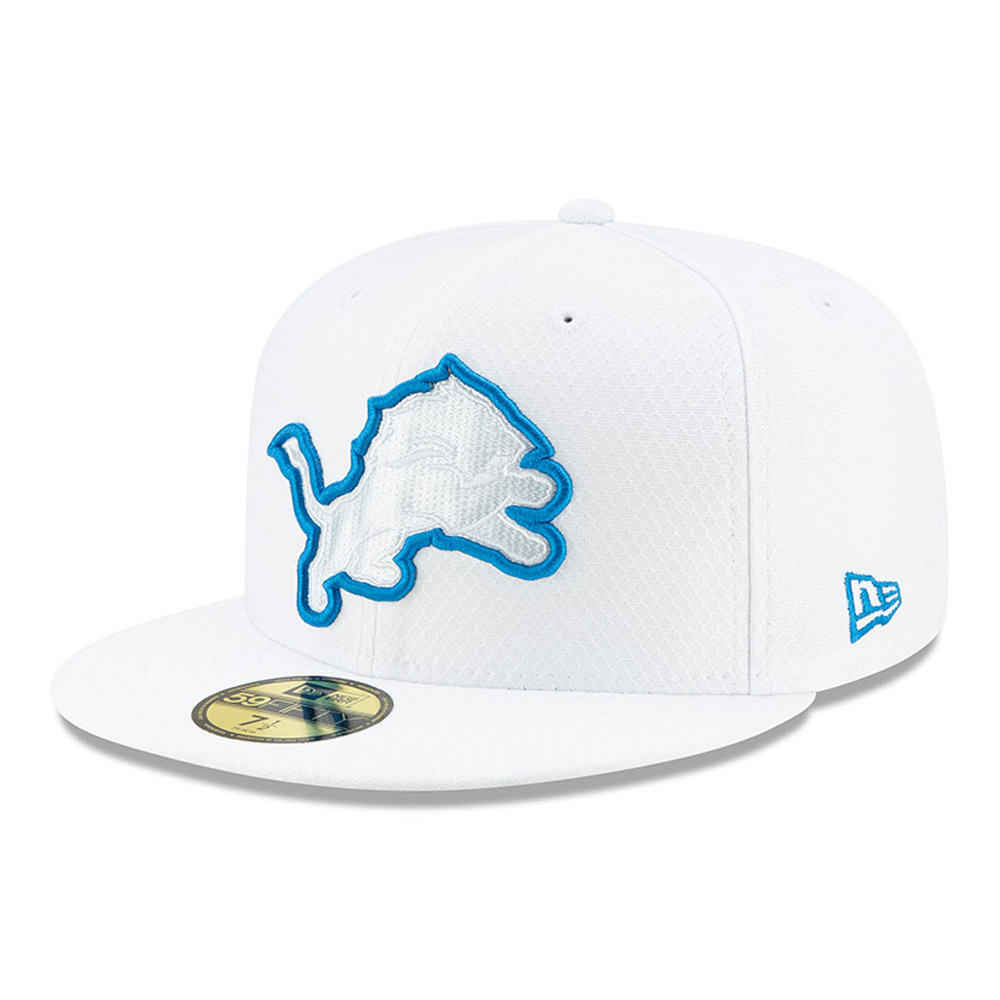 59FIFTY – Detroit Lions – On Field Platinum