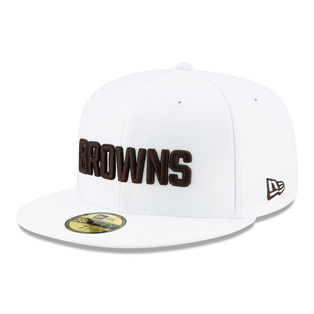 59FIFTY – Cleveland Browns – On Field Platinum