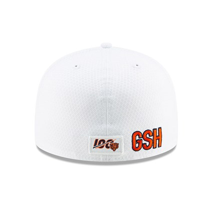 Chicago Bears On Field Platinum 59FIFTY