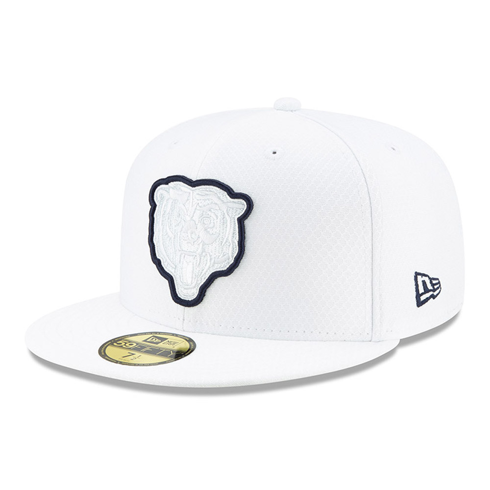 59FIFTY – Chicago Bears – On Field Platinum