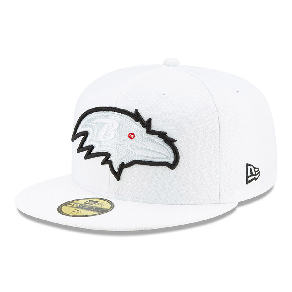 59FIFTY – Baltimore Ravens – On Field Platinum