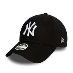New York Yankees Essential Womens Black 9FORTY Cap