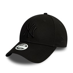 New York Yankees Essential Womens All Black 9FORTY Cap