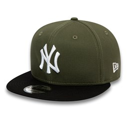 New York Yankees Colour Block Green 9FIFTY Cap