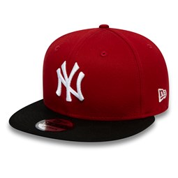 New York Yankees Colour Block Red 9FIFTY Cap