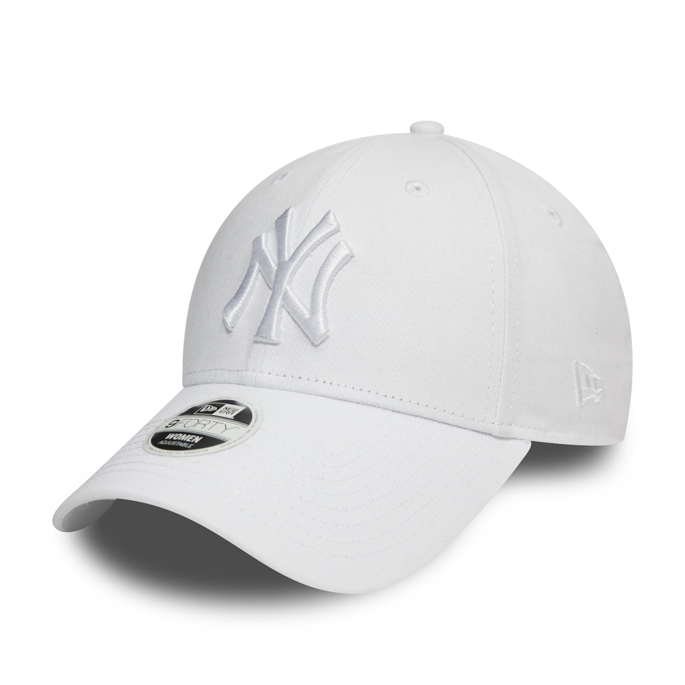 New York Yankees Essential Womens White 9FORTY Cap
