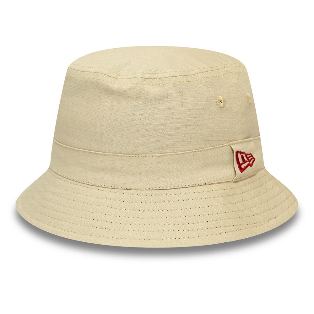 Cappello da pescatore New Era grigio pietra con stampa africana