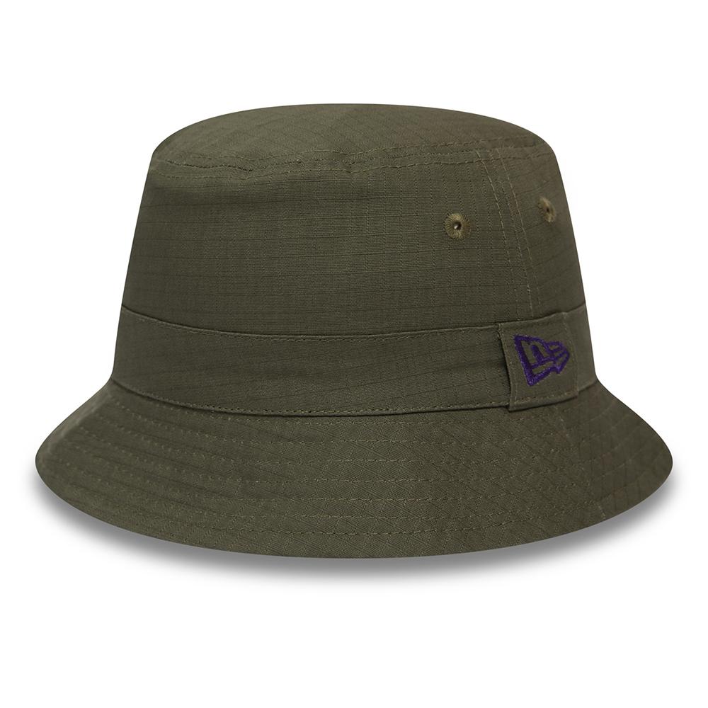 Cappello da pescatore New Era kaki con stampa africana