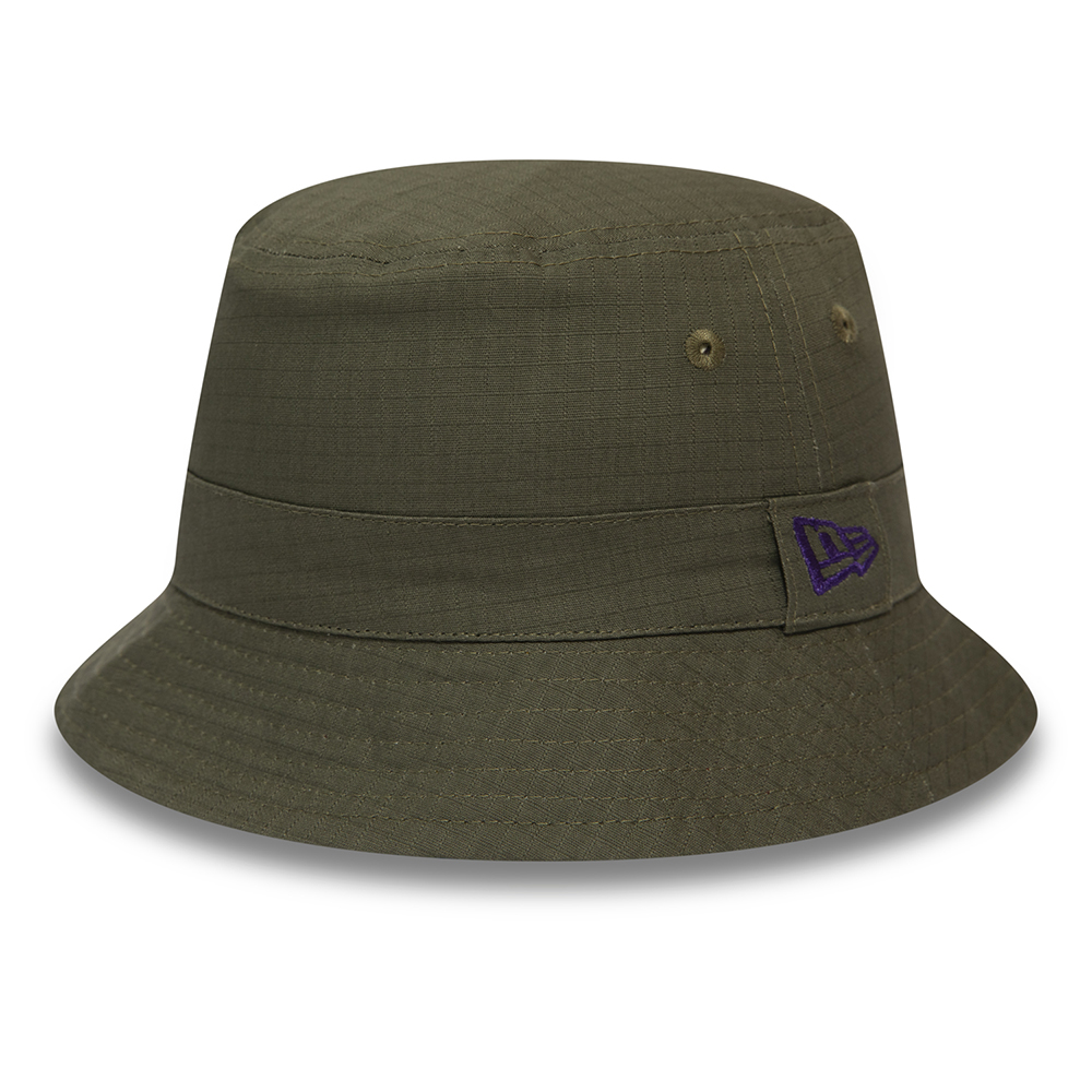 New Era African Print Khaki Bucket